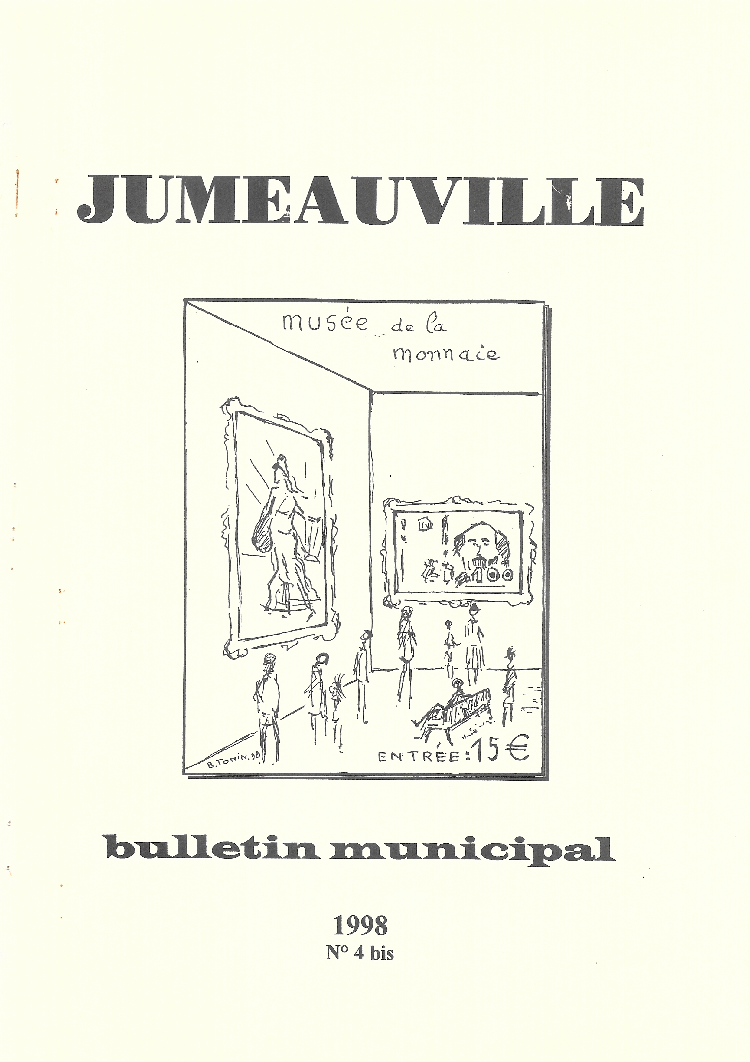 Bulletin Municipal 4bis 1998